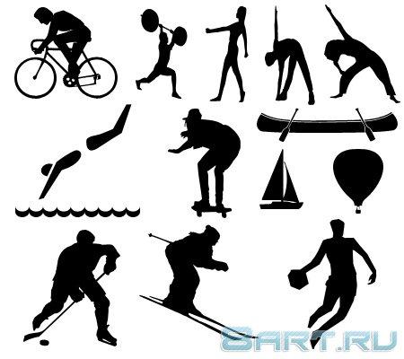 Спортивные фигуры