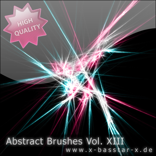 ����� ��� Photoshop - Abstract Brushes vol. 13-5x
