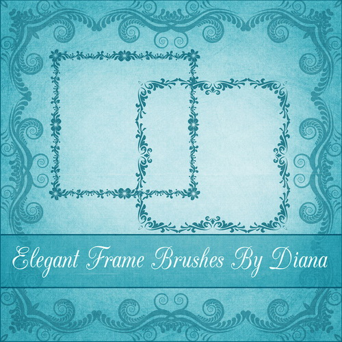 Decor Frame Brushes 3 by Diana Creations  Декоративные рамки