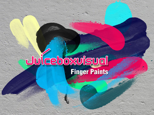 Finger Paints Photoshop Brush Set