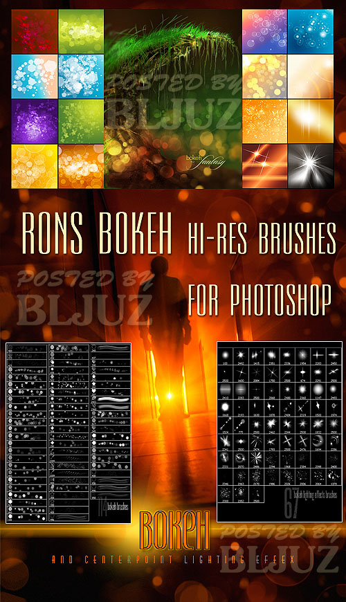 Rons Bokeh Brushes for Photoshop