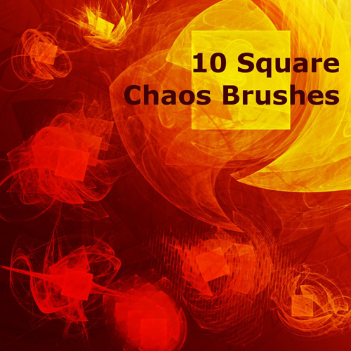 10 Square Chaos Brushes