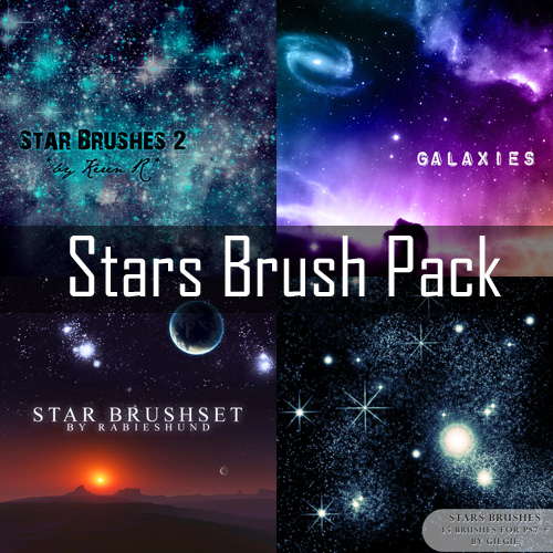 Stars Brush Pack