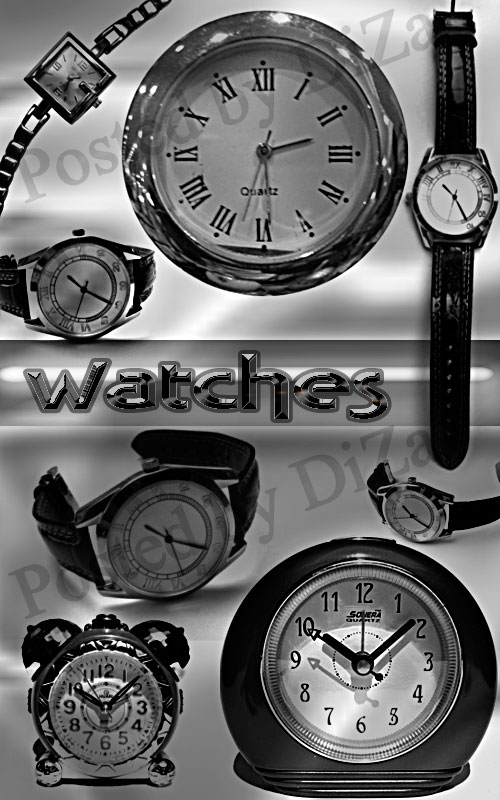 Кисти часы - Brushes watches