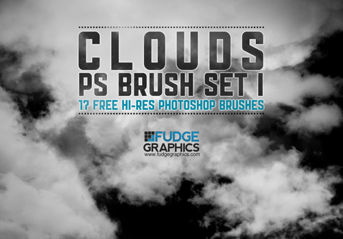 Hi-Res Clouds PS Brush Set