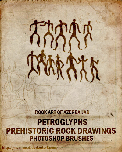 Brushes of Rock Drawings