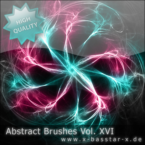 Кисти для Photoshop - Abstract Brushes vol. 16-5x