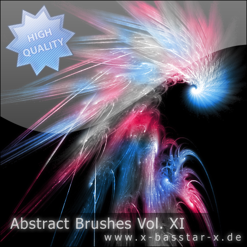 Кисти для Photoshop - Abstract Brushes vol. 11-5x