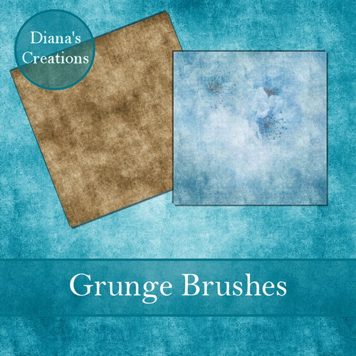 Bokeh & Grunge Brushes by Diana Creations  Кисти - Боке и гранжевые
