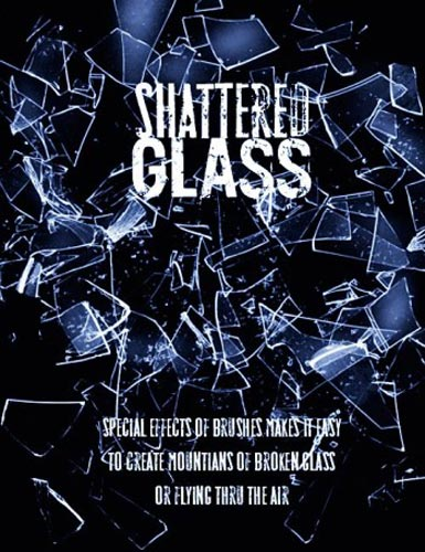 Кисти  Rons Shattered Glass