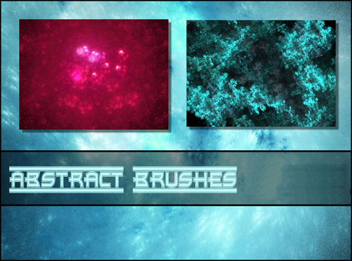 Colourful Abstract Brushes Pack for Photoshop