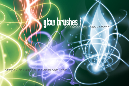 Glow Part I: Photoshop & Gimp Brushes