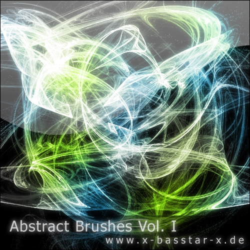 ����� ��� Photoshop - Abstract Brushes vol. 1-10x