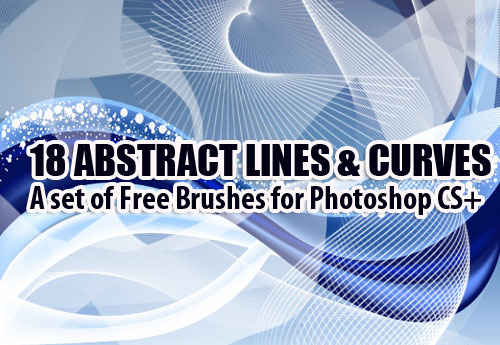18 Abstract Photoshop Brushes