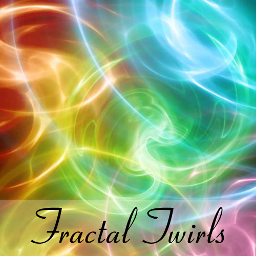 Fractal twirls brushes