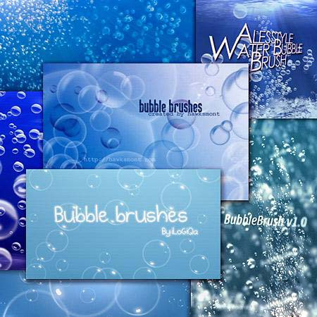 Bubbles Photoshop Brushes