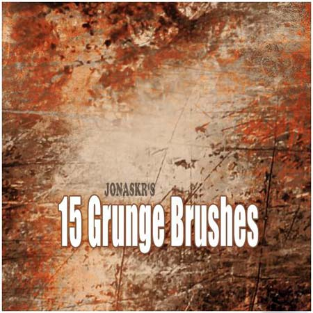 Rust Grunge Photoshop Brushes