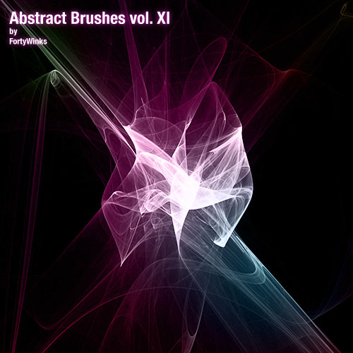 Abstract brushes vol. 11 by forty-winks