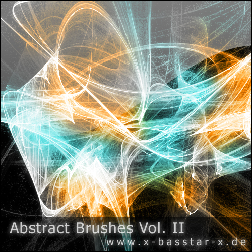 Кисти для Photoshop - Abstract Brushes vol. 2-10x