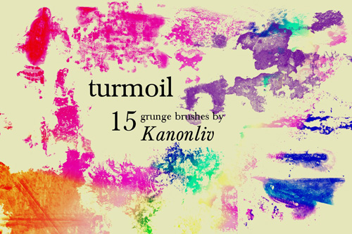 15 Turmoil Brushes