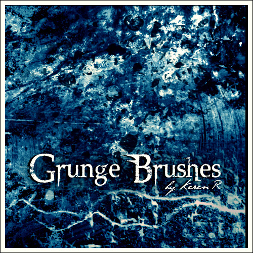 Grunge ABR Brushes For Adobe Photoshop