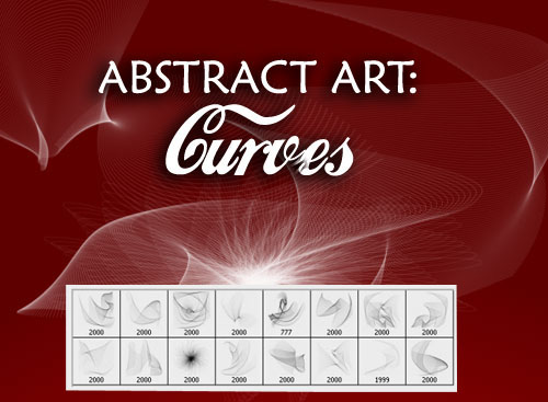 Abstract Art Photoshop Brushes - Curves