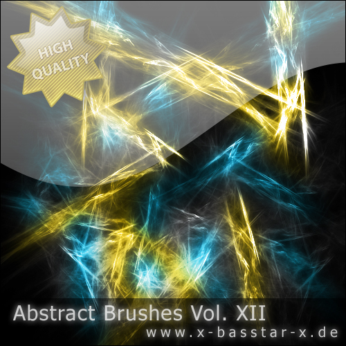 Кисти для Photoshop - Abstract Brushes vol. 12-5x