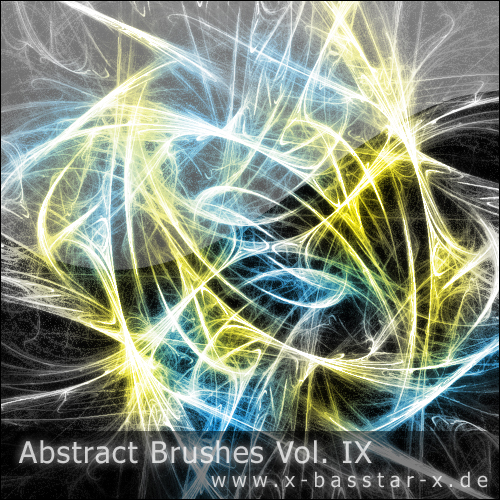 Кисти для Photoshop - Abstract Brushes vol. 9-10x