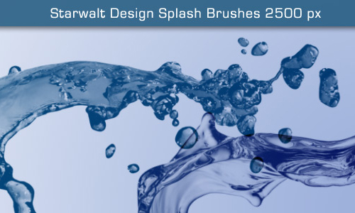 Starwalt Splash Brushes