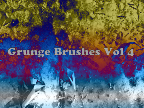Grunge Brushes for Photoshop Vol. 4