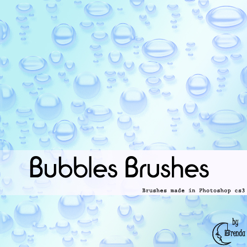 ����� ��� Photoshop - Bubbles Brushes by Brenda