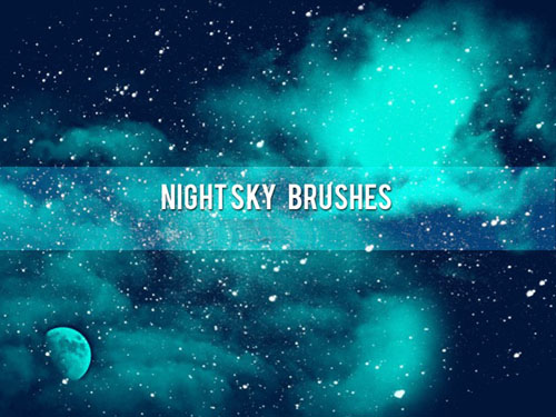 Night Sky Brushes for Photoshop