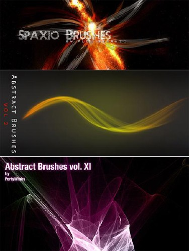 Abstract Photoshop Brushes Pack 2