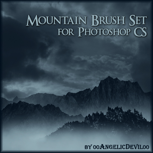 Mountain brush set