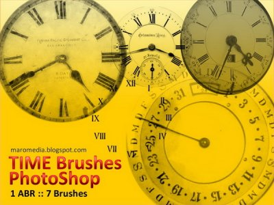 Time Brushes. Кисти для Photoshop