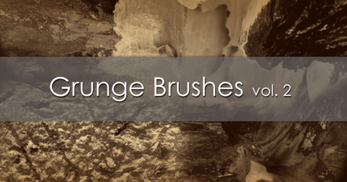 Grunge Brushes for Photoshop Vol. 2