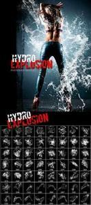 Кисти для Adobe Photoshop - Hydro Explosion