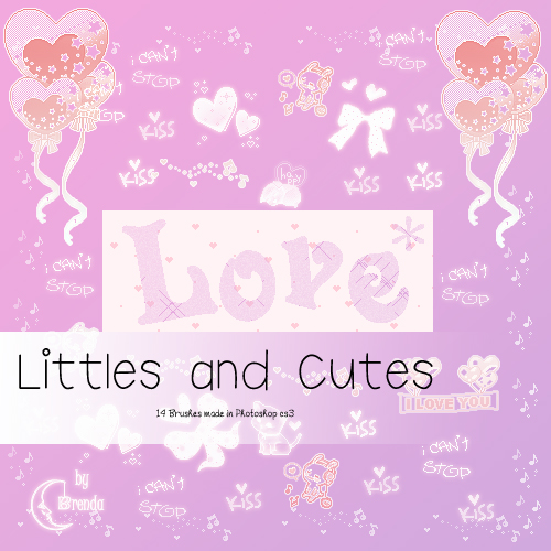 Кисти для Photoshop - Littles and Cute Brushes by Brenda