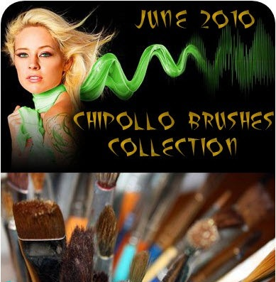 June 2010 CHIPOLLO Brushes Collection