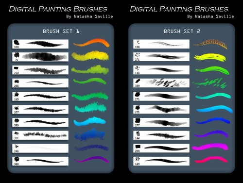 Brushes for Photoshop - Digital Painting
