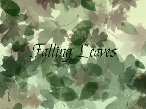 Falling Leaves Brushes for Photoshop