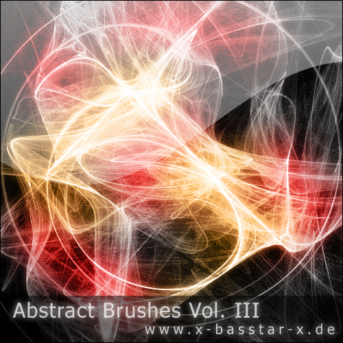 Кисти для Photoshop - Abstract Brushes vol. 3-10x