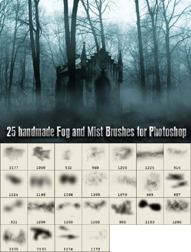 25 Fog and Mist Brushes for Photoshop