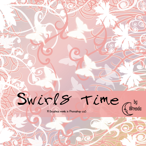 Кисти для Photoshop - Swirls Time Brushes by Brenda