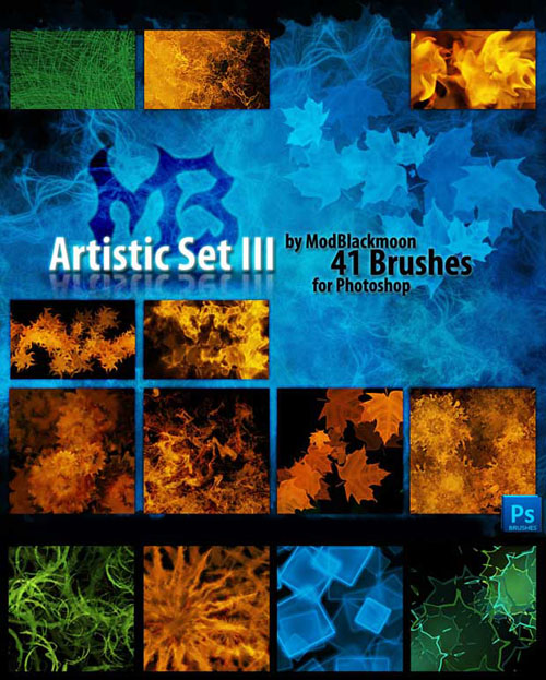 Brushes for Photoshop - Artistic
