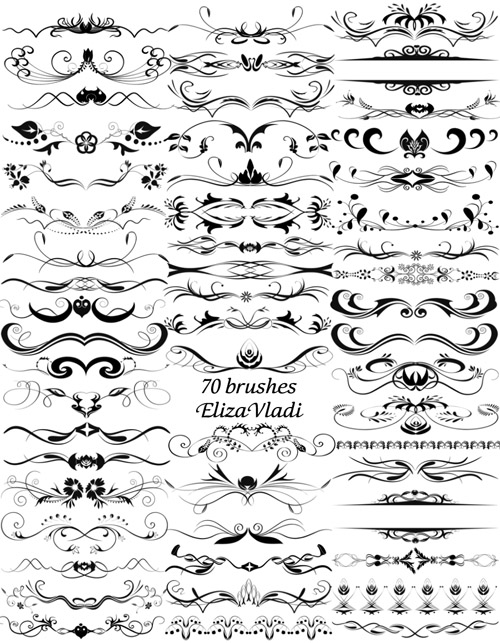 book pages brushes