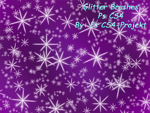 Brushes for Photoshop - Glitter Ps CS4