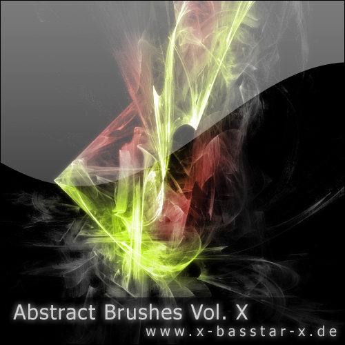 ����� ��� Photoshop - Abstract Brushes vol. 10-10x