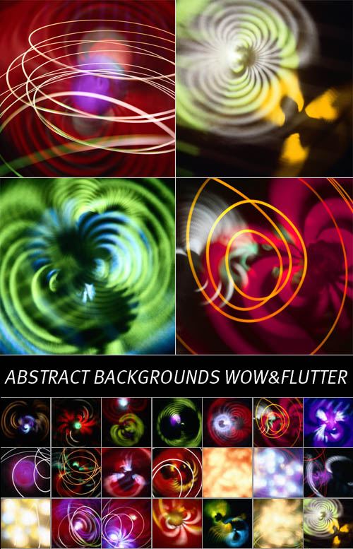 Abstract Backgrounds Wow&Flutter