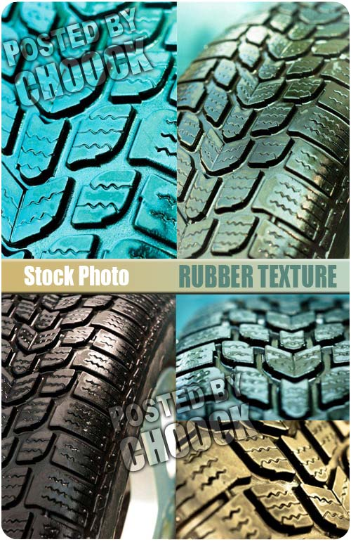 Stock Photo: Rubber texture
